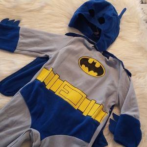 Batman costume with cap and mask EUC